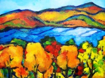 River-Channeling Georgia O'Keefe