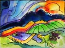 El Rastro Watercolor Card Series