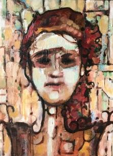 "Citrine Oil on Canvas 9""x12"""