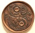 Interconnected Wisdom, 2019 Ceramics/African Plate 1' diameter